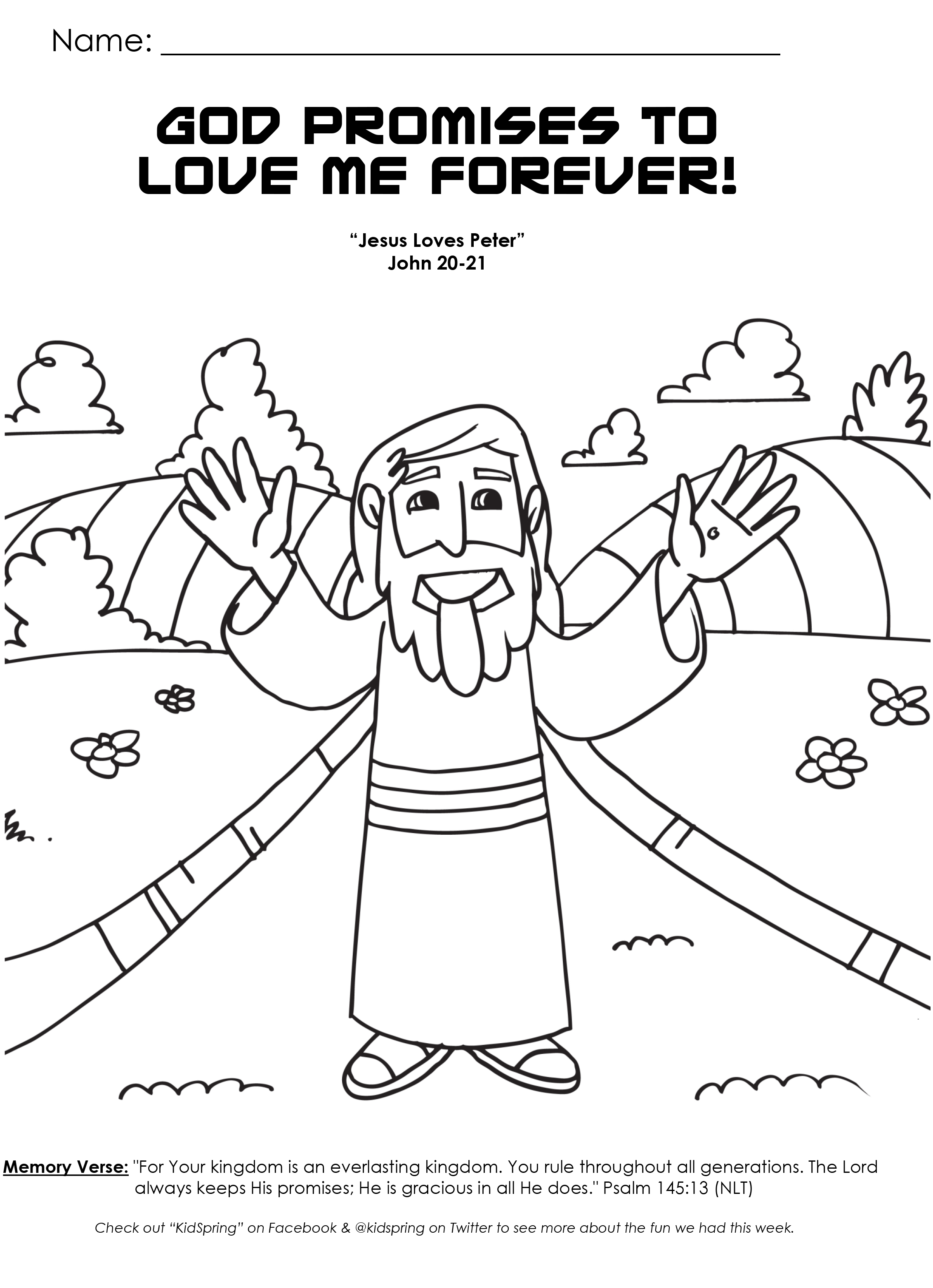 love god coloring pages - photo#9